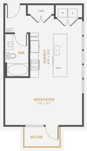 Alexan Lower Greenville Studio Floor Plans E3