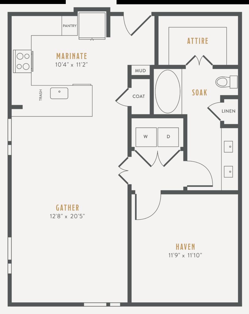 one bedroom Dallas apartments