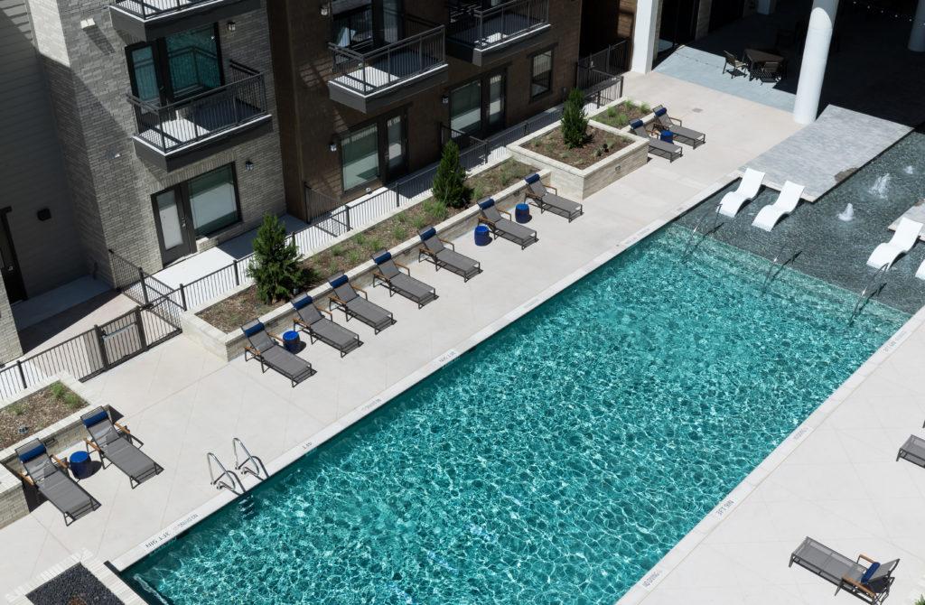 Dallas luxury apartment community