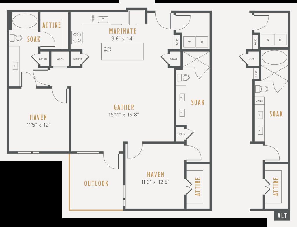 Dallas Two-Bedroom