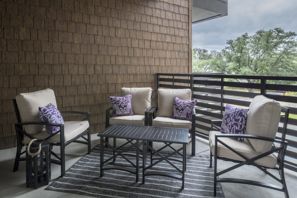 relaxing private balcony - Be Comfortable and Relaxed