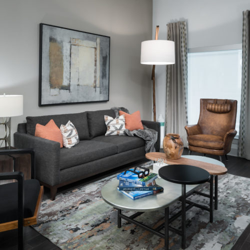 Open floor plans with tall ceilings and real wood flooring - Make Personal Comfort a Priority