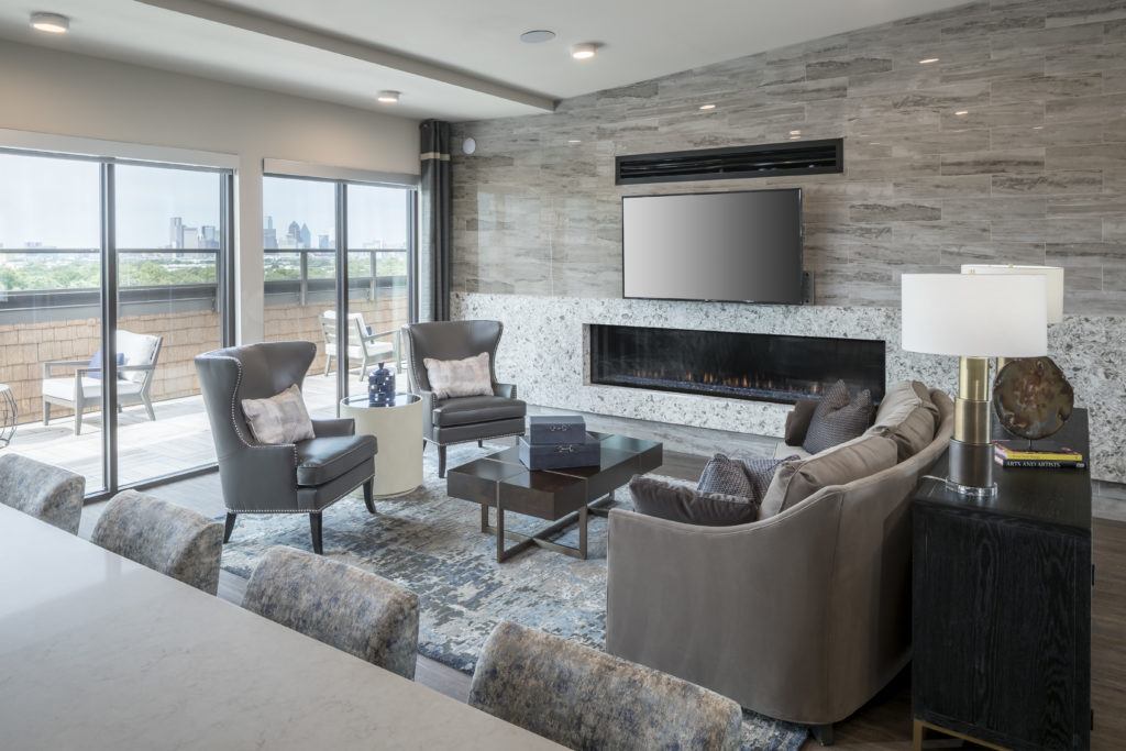 5th floor clubroom at Alexan Lower Greenville - Picture Your Perfect Weekend